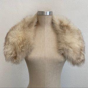 Genuine Vintage Fur Stole Collar